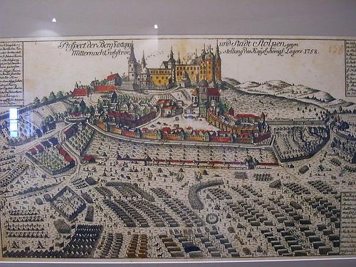 Burg Stolpen-вид внутри 38769
