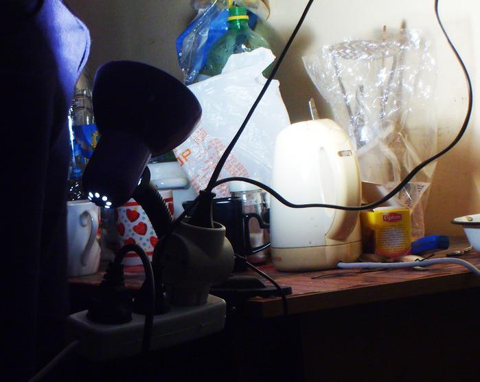 проводка, свет, лампа