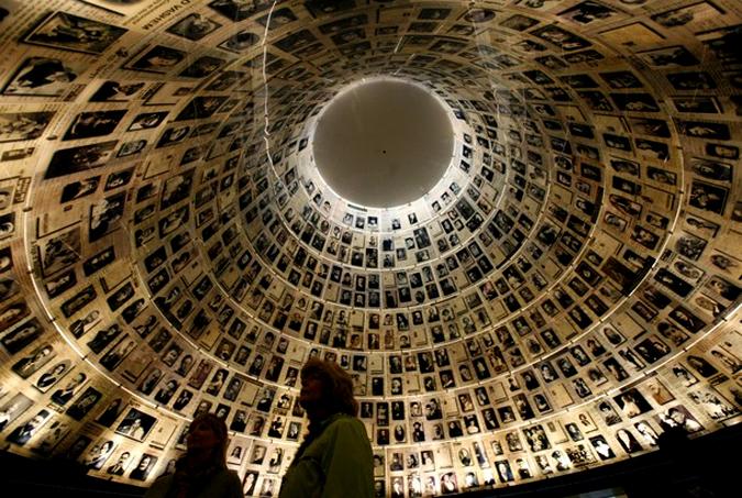 Международный день памяти жертв Холокоста в музее его истории, Иерусалим.