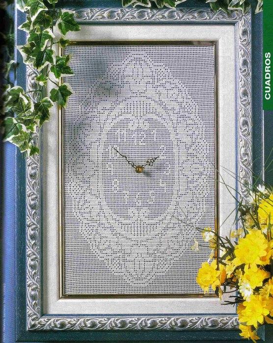 clock crochet