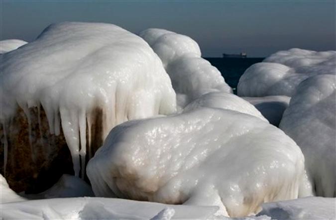 Зимние морозы заставляют удивляться