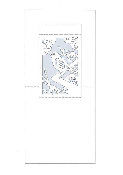 открытками киригами.