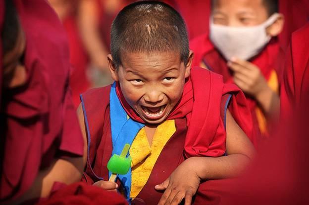 Лучшие детские фотографии января (15 фото)