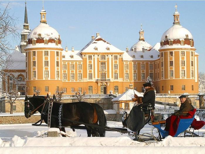 Замок Морицбург (Schloss Moritzburg)-часть 3 26031