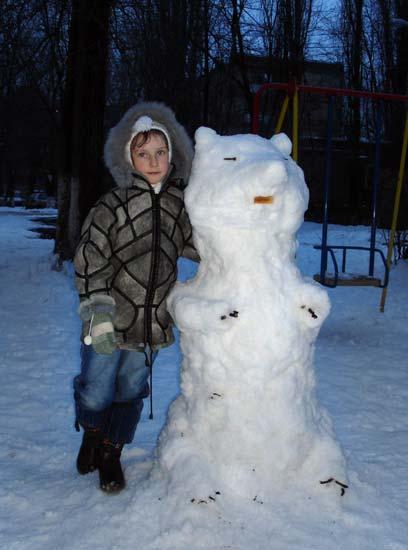 снеговик Умка