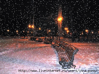 Рождество 2010 . Харьков. Парк. Снег.