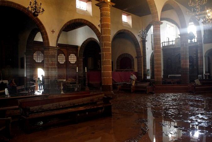 Наводнение на испанском курорте Тенерифе