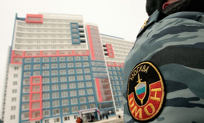 Для московского ОМОНа построили казенный дом
