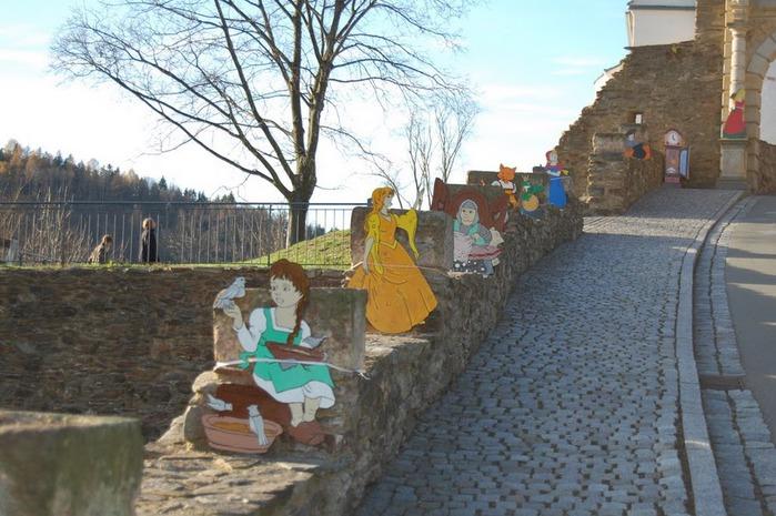 Крепость Шарфенштайн (нем. Burg Scharfenstein) 43646