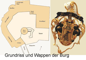 Крепость Шарфенштайн (нем. Burg Scharfenstein) 76194