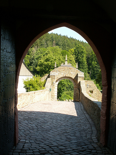 Крепость Шарфенштайн (нем. Burg Scharfenstein) 80262