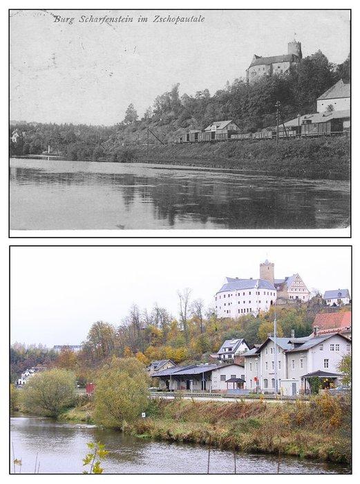Крепость Шарфенштайн (нем. Burg Scharfenstein) 72958