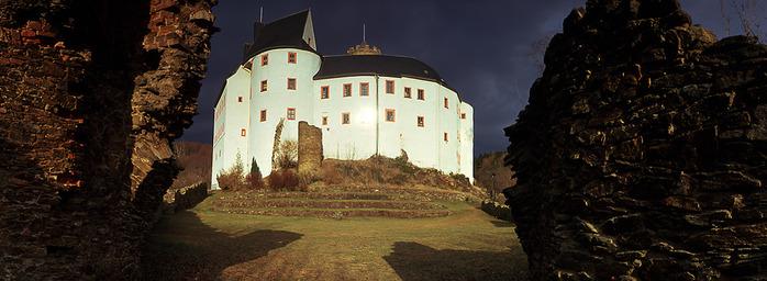 Крепость Шарфенштайн (нем. Burg Scharfenstein) 41083