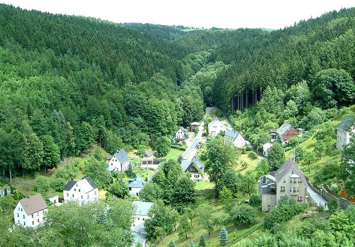 Крепость Шарфенштайн (нем. Burg Scharfenstein) 58161