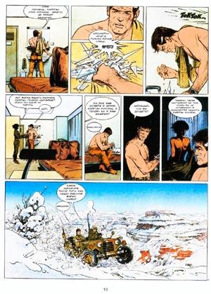Там где ходит индеец (Là où va l'indien), Т2, стр. 10