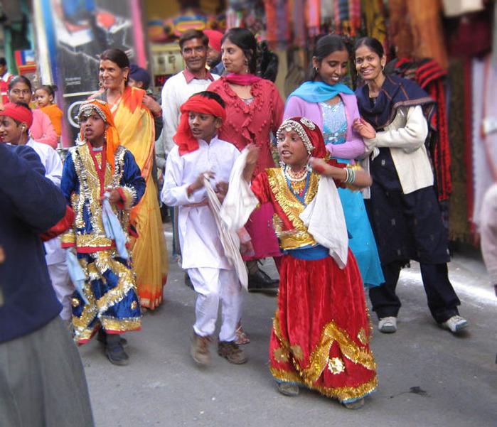 Индия люди