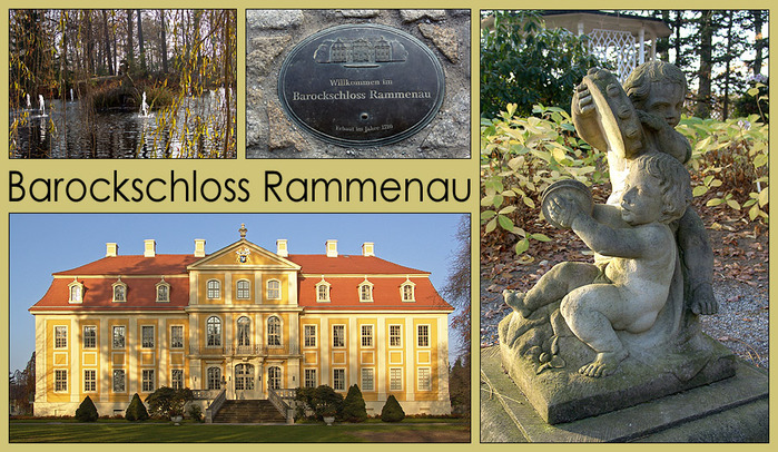 Замок Рамменау (нем. Barockschloss Rammenau) 23465