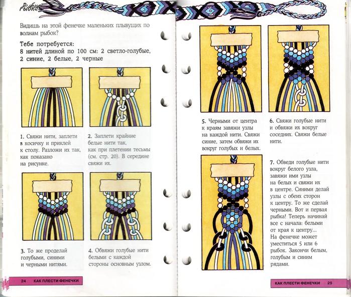 Схемы некоторых фенечек