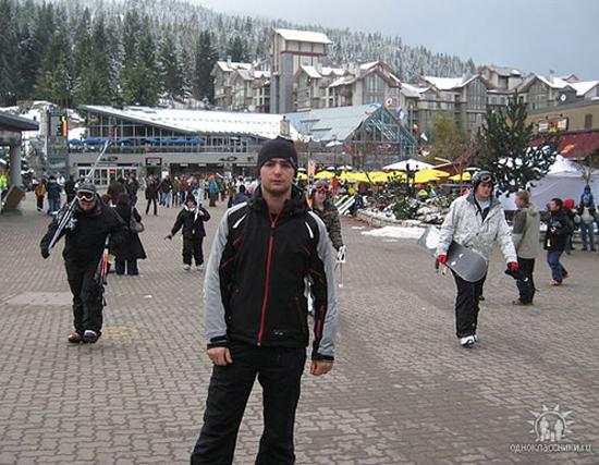 Вырос в Бакуриани, где в свое время была база горнолыжников со всего СССР