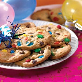 Печеньки с m&m's