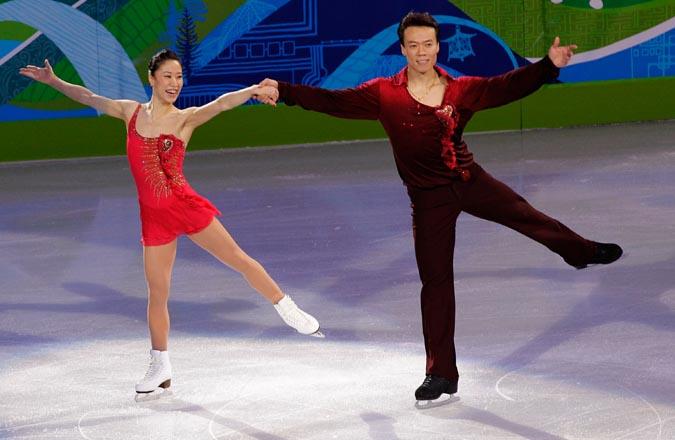 Китайский триумф в фигурном катании, Ванкувер, 15 февраля 2010 года.