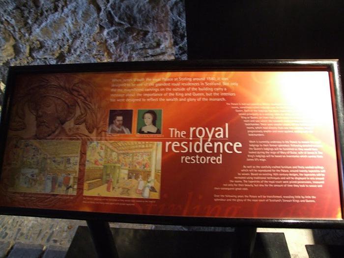 Замок Стерлинг, Шотландия 67821