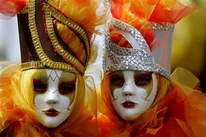 Карнавал в Барранкилье (Куррамба-Ла-Белья), Колумбия, 13-14 февраля 2010 года.