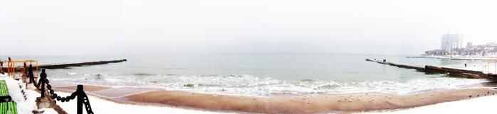 море панорама, одесса, аркадия панорама