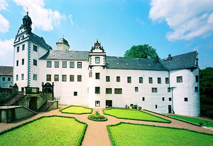 Замок Лауенштайн (нем. Schloss Lauenstein)-Erzgebierge,Sachsen 14594