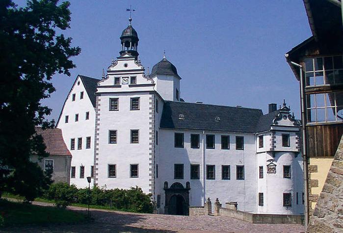 Замок Лауенштайн (нем. Schloss Lauenstein)-Erzgebierge,Sachsen 98197