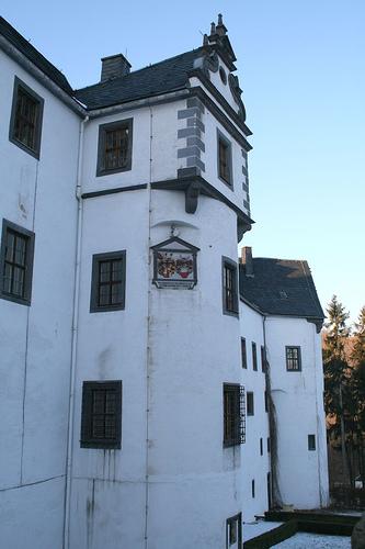 Замок Лауенштайн (нем. Schloss Lauenstein)-Erzgebierge,Sachsen 85667