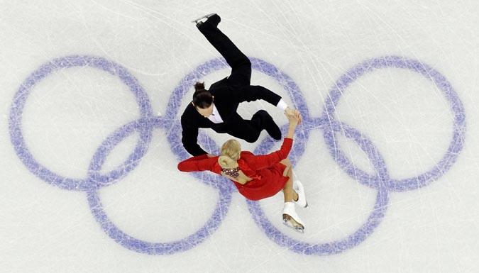 Обязательные танцы олимпийского Ванкувера.