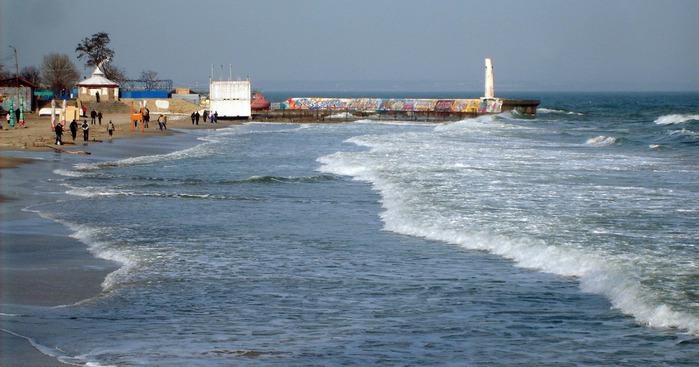море, одесса, отрада, море зимой
