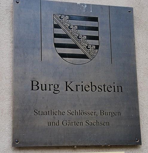Крепость Крибштайн (нем. Burg Kriebstein) 98638