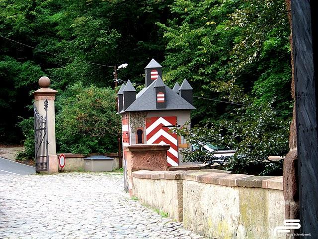 Крепость Крибштайн (нем. Burg Kriebstein) 11219