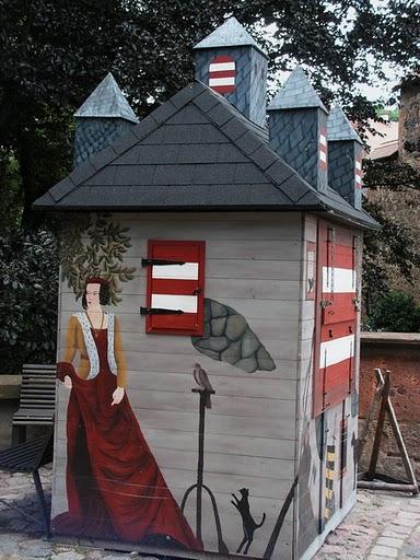 Крепость Крибштайн (нем. Burg Kriebstein) 35779