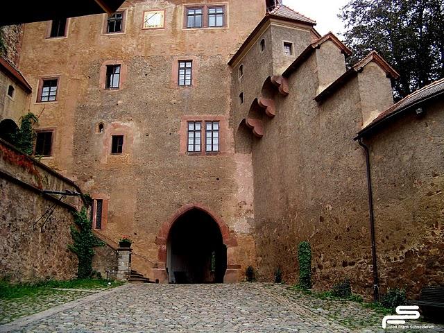 Крепость Крибштайн (нем. Burg Kriebstein) 31155