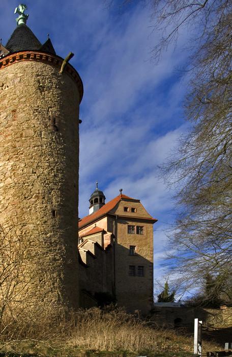 Крепость Крибштайн (нем. Burg Kriebstein) 15876