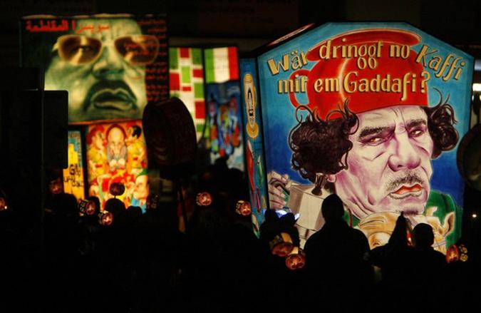 Базельский карнавал начался с утреннего парада Morgenstreich, Базель, Швейцария, 22 февраля 2010 года.