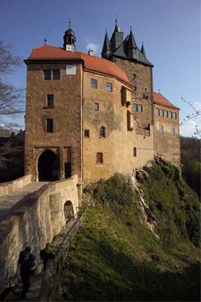 Крепость Крибштайн (нем. Burg Kriebstein) 64641
