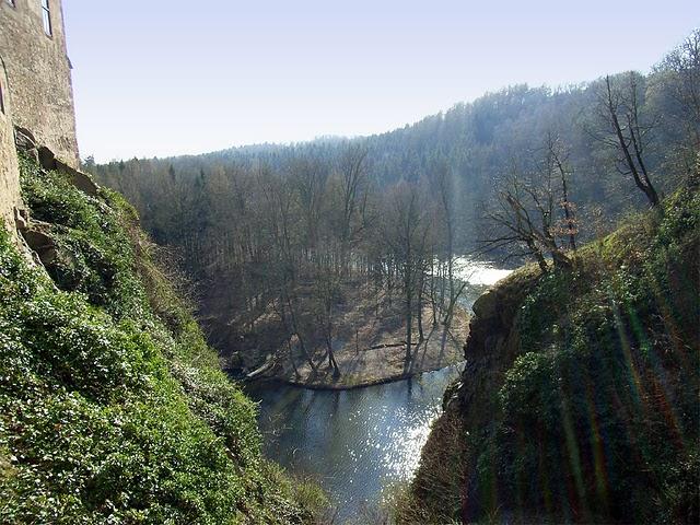 Крепость Крибштайн (нем. Burg Kriebstein) 76095