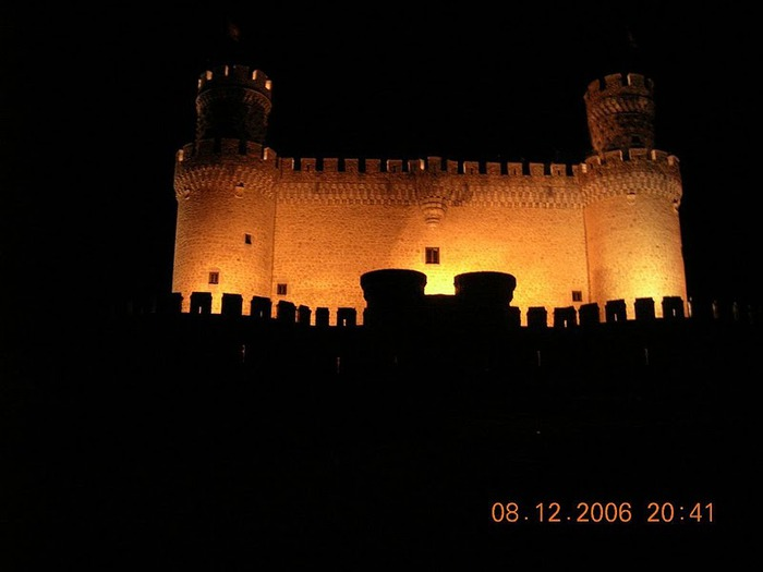 Замок в Мансанарес Эль Реал 50199