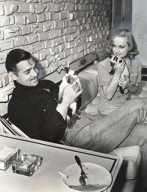 Clark Gable, Carole Lombar