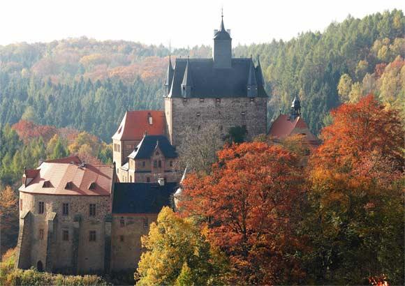 Крепость Крибштайн (нем. Burg Kriebstein) 38129
