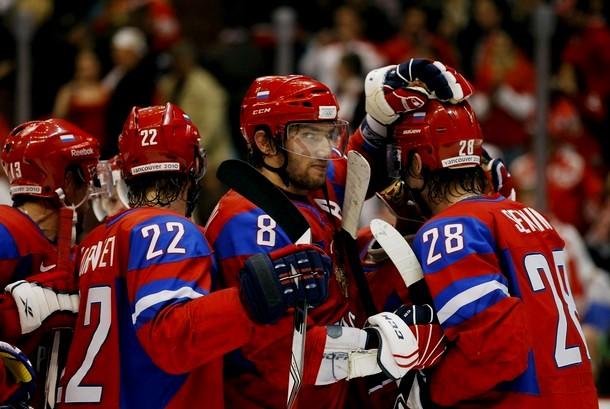 Хоккей Россия 4:2 Чехия, Уистлер, Британская Колумбия, 21 февраля 2010 года.