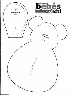 выкройка мышки