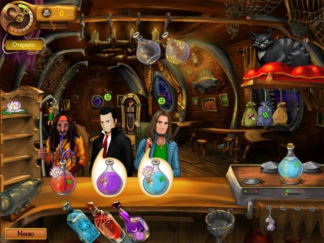 мини игра призрачный бар