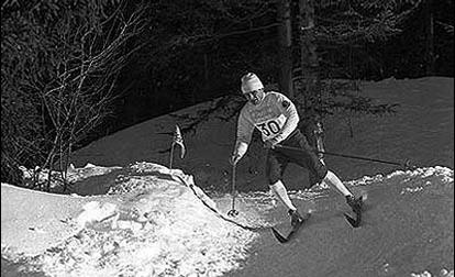На лыжне Вячеслав Веденин. Фото оф. сайт МОК