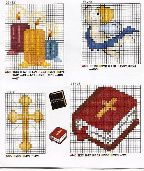 Вышивка крестом христианские