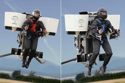 Martin Jetpack - персональное летательное средство (реактивный ранец)